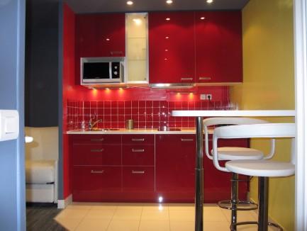 Rénovation d'un studio Rue Godefroy Cavaignac Paris 11