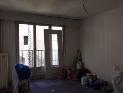 Rénovation d'un 2 pièces Rue du Rhin dans le 19ème